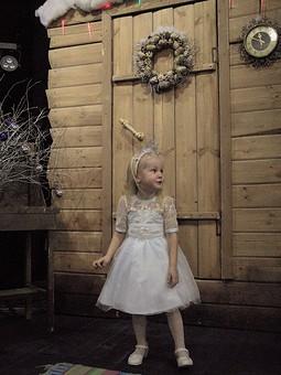 Работа с названием Платье Снежинки на Новый год