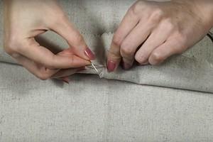 Лайфхак: как шить без узелков и хвостиков (видео)