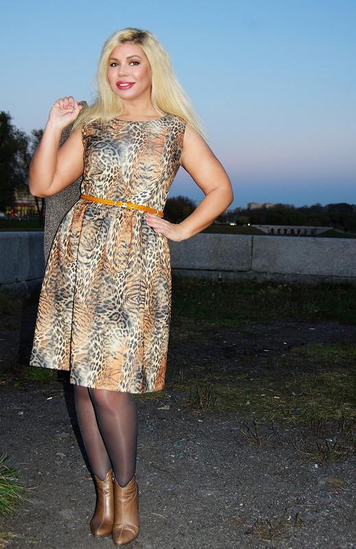 Неопрен платье