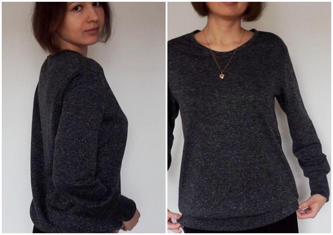 Пуловер слюрексом от Larisa07