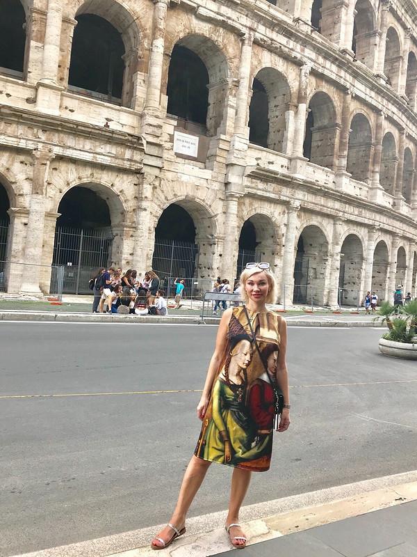 Римское платье