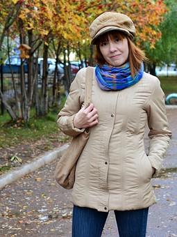 Работа с названием Куртка с начинкой из burda № 9 2018