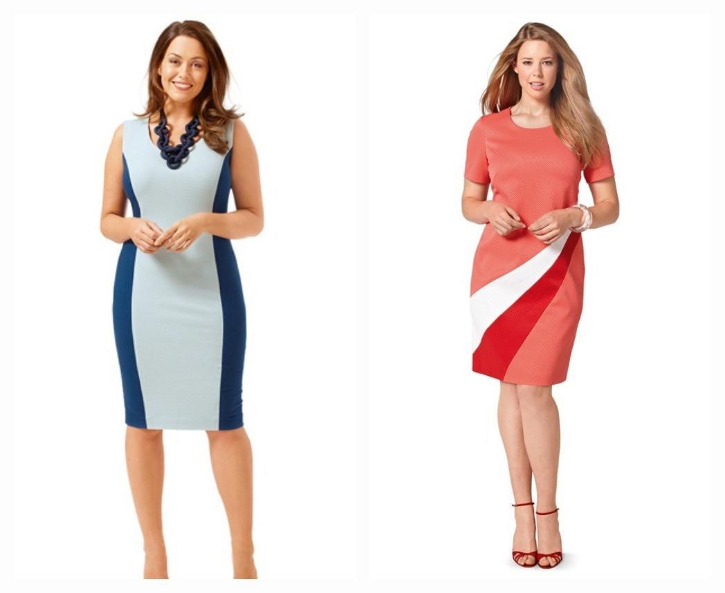 6 идеальных платьев дляполных девушек