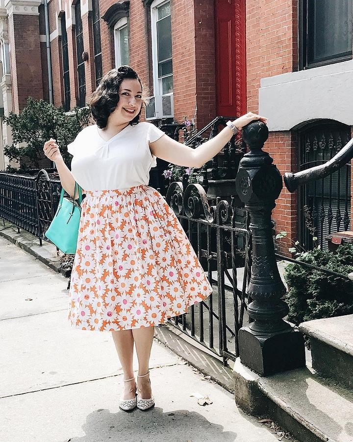 Не можешь найти подходящее платье — сшей его: instagram недели