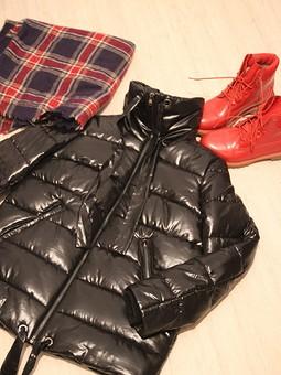 Работа с названием Куртка на изософте