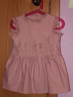 Работа с названием Детское праздничное платье