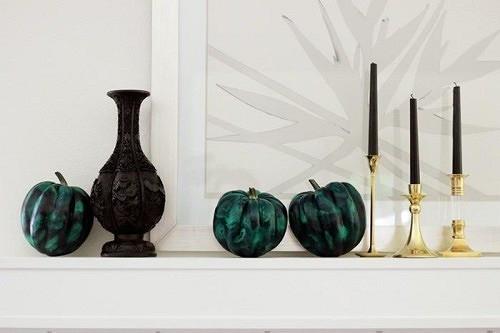 Три красивых инеобычных тыквы кХэллоуину