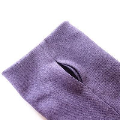 Как выполнить рукав свырезом длябольшого пальца: мастер-класс