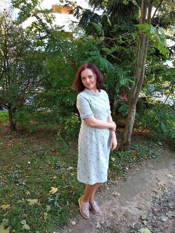 Милое «шанельное» платье