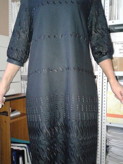Платье срукавом реглан