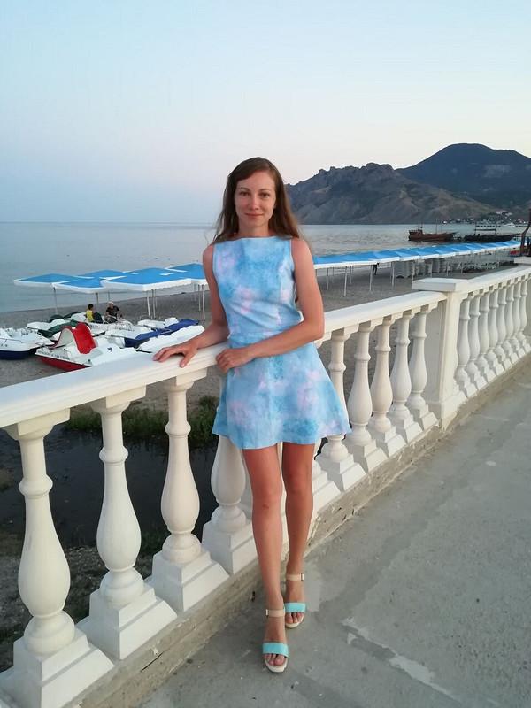 Платье цвета неба от nutka-cherp