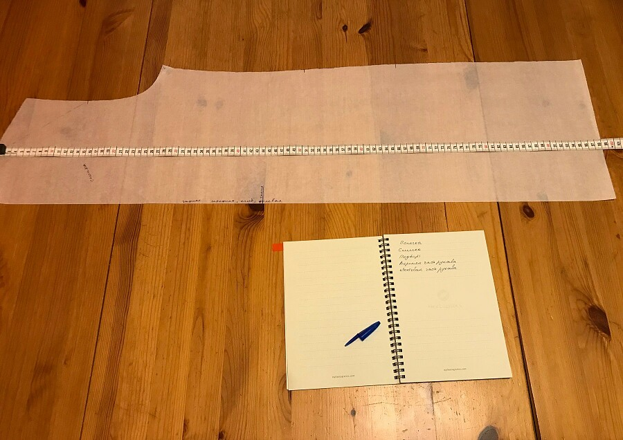 Как рассчитать метраж, если ткань продаётся вотрезах
