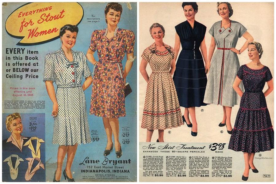 Модные советы дляполных девушек изкниг 1940-х годов