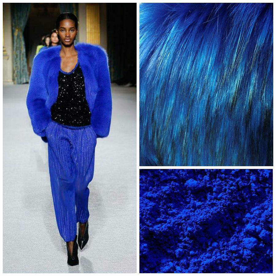Цвет настроения — синий: главный цвет зимы-2019