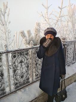 Работа с названием Зимнее пальто из советского драпа