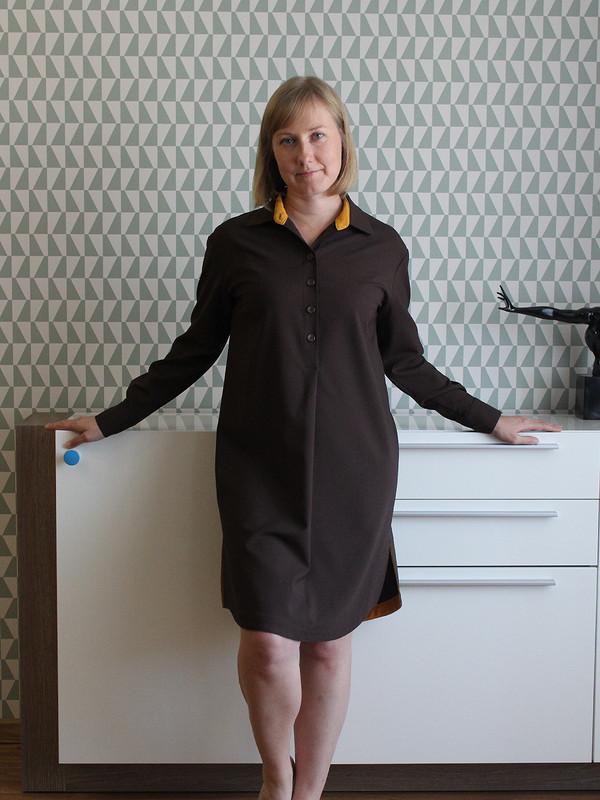 Платье-рубашка от Galina78