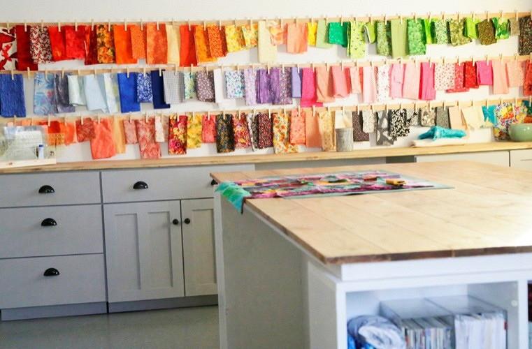 Как организовать хранение ткани спомощью ярлыков
