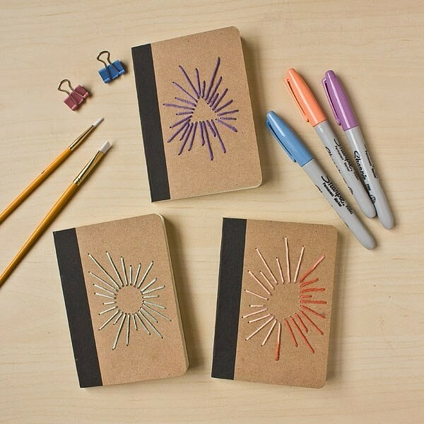 Блокноты свышивкой своими руками: мастер-классы + идеи