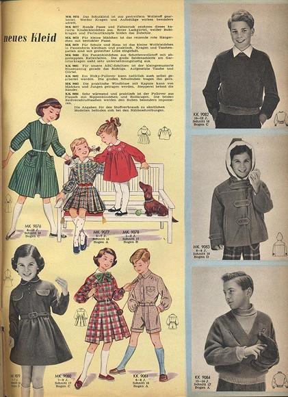 Выкройка месяца: ретро-платье изBurda 12/1955 ( + журнал внутри!)
