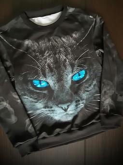 Работа с названием Кошечка с голубыми глазами