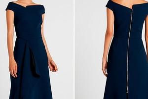 Как сшить платье Меган Маркл от Roland Mouret по выкройке Burda
