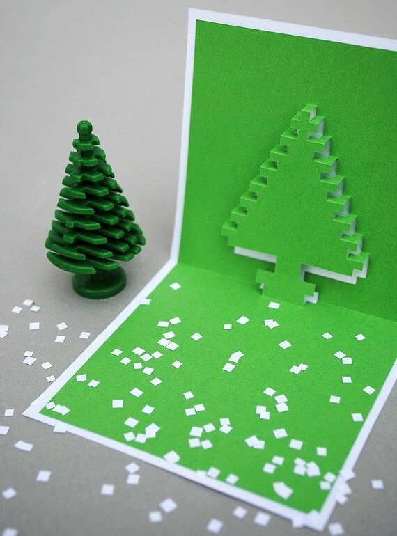 Новогодние открытки своими руками: 10 идей синструкциями