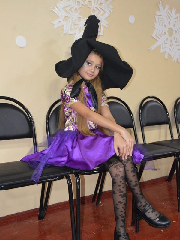 Новогодняя ведьмочка
