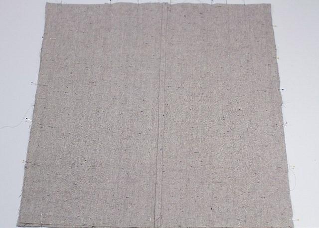 Наволочка сфигурными складками длядекоративной подушки: мастер-класс