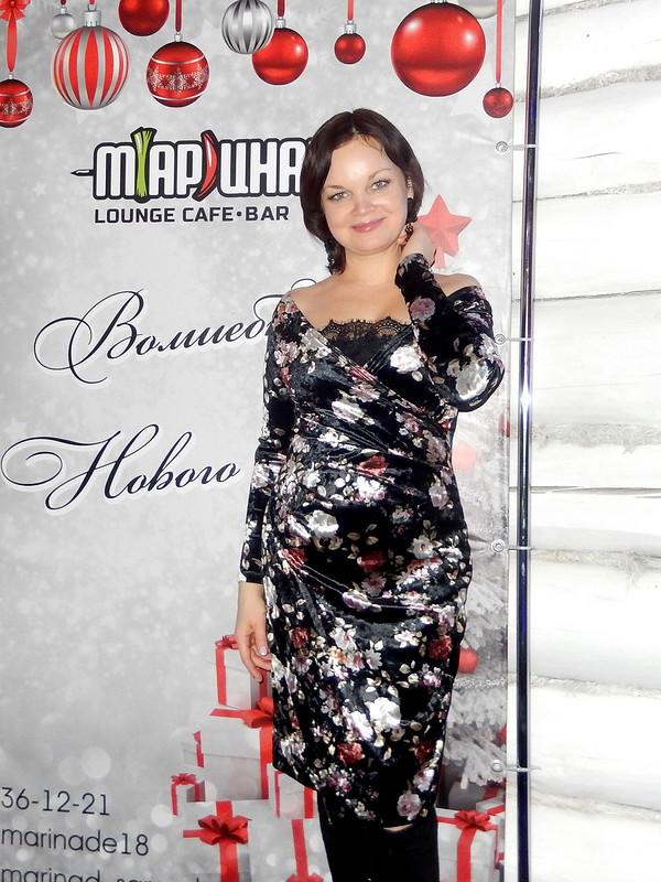 Бархатное платье от Катя Лузина