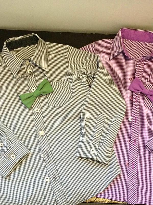 Рубашки двойняшкам