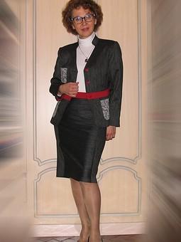 Работа с названием Жакет+две ноябрьские юбки