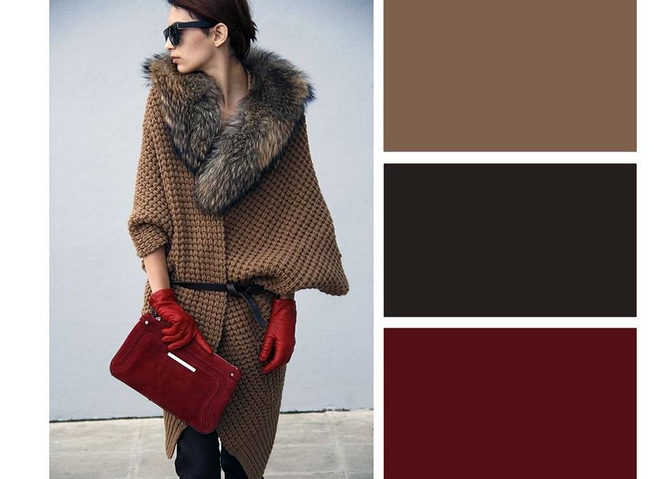 7 модных цветовых сочетаний дляяркой зимы