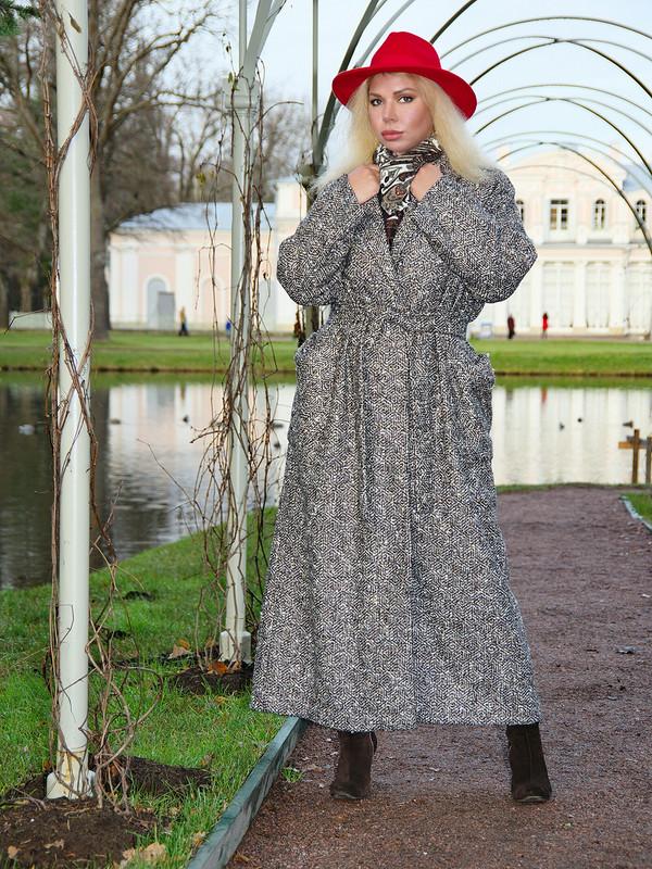 Длинное пальто от YliaM