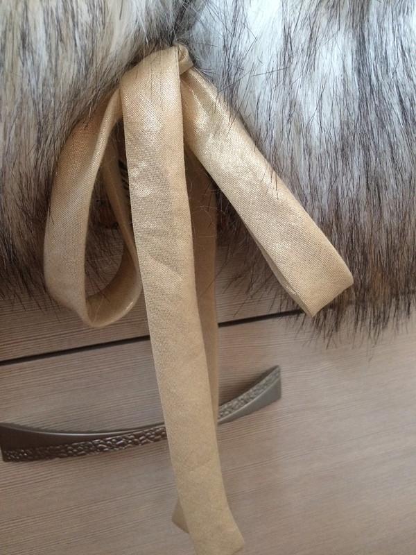 Меховой Жилет-болеро от KreamBrule