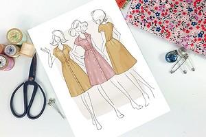 Раскладка выкройки на ткани: полное руководство