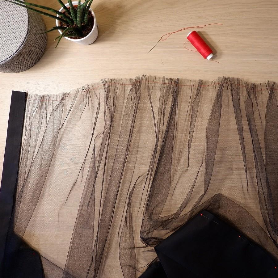 Съёмная юбка изсетки своими руками