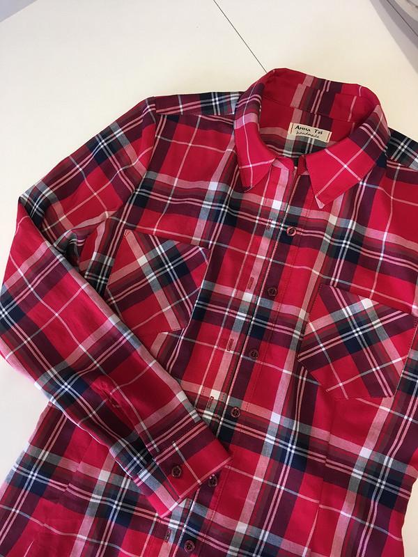 Рубашка чётко пофигуре