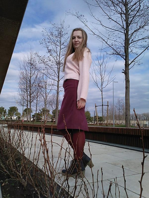 Юбка соборочками от OlyaSesolya