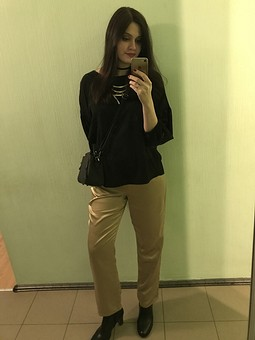 Работа с названием Золотые брюки