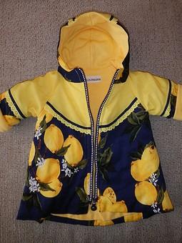 Работа с названием Лимонная курточка