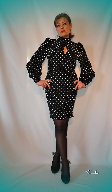 Мой вариант платья вгорошек от nushi