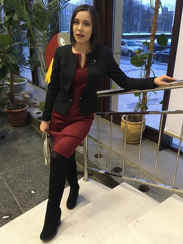 Жакет-спенсер