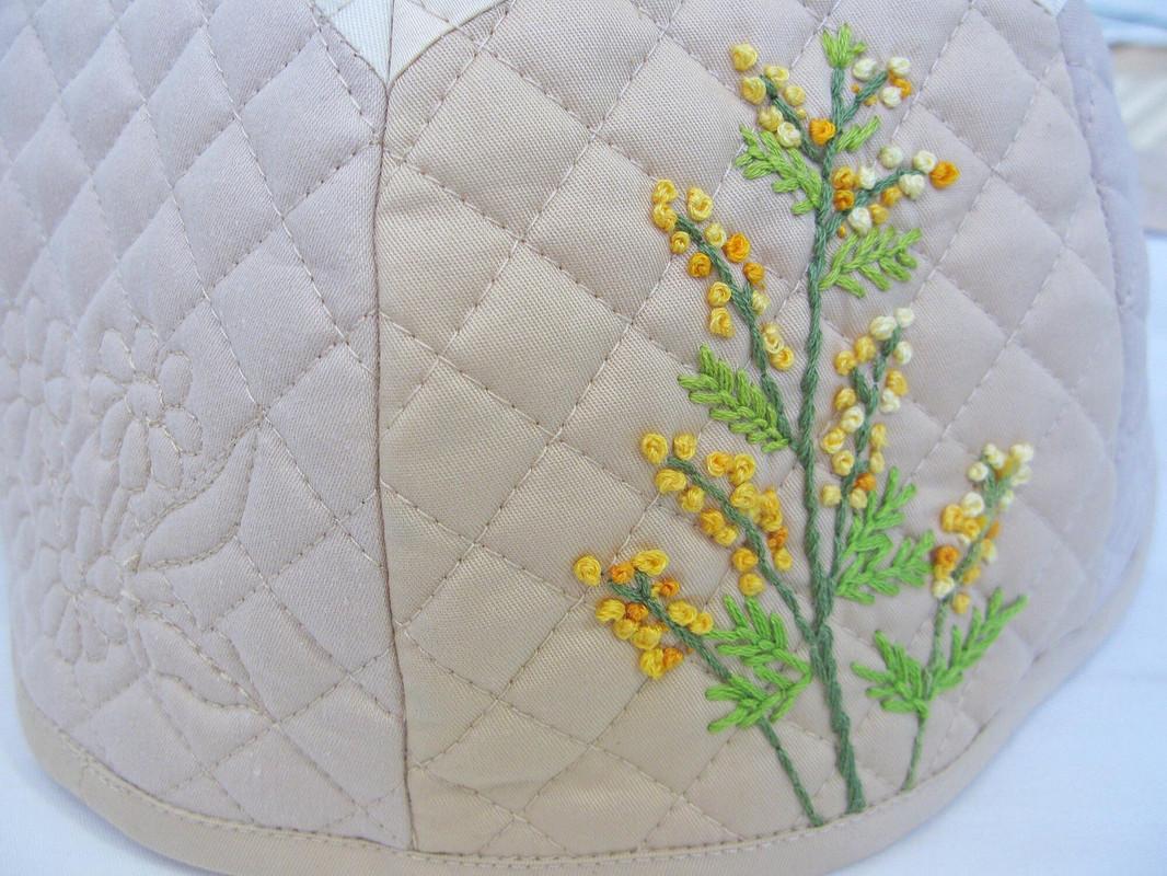 Комплект длячаепития Весенние цветы