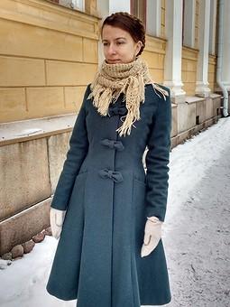 Работа с названием Princess coat