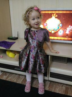Работа с названием Платье принцессы