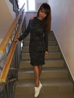 Работа с названием Платье в стиле casual