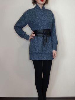 Работа с названием Макси пуловер или Мини платье?
