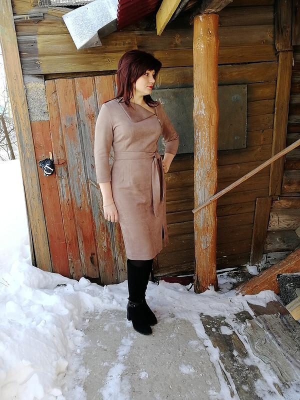 Платье иззамши от MarKo