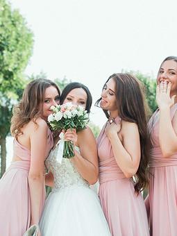 Работа с названием Платья для подружек-невесты