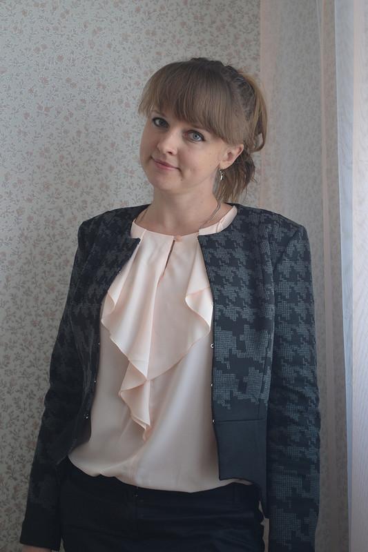 Блуза француза